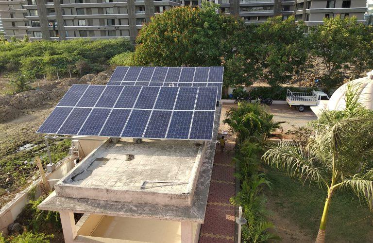 20 KWP Siddhivinyak Mandir, Vesu, Surat May 18
