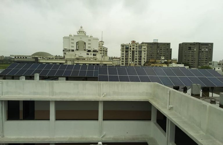 25 kWp DRB college, New Citilight ,Surat