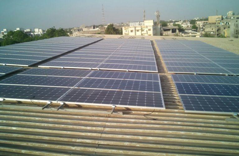 30 kWp Municipal corporation, Ankleswar may 17