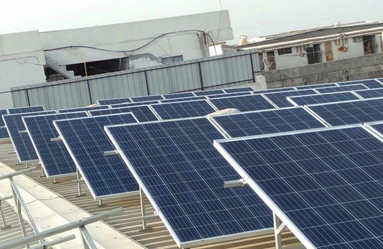 60 kWp Akkanand textiles, Kosad, Surat