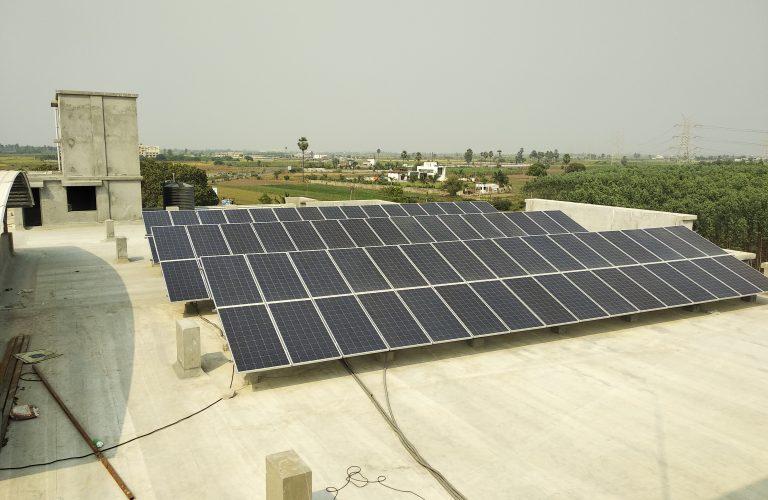94 kWp Maharaja Agrasen College, Narthan, Surat Nov 2018