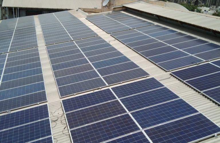 60 kWp - Maharaja Agrasen Bhavan, Citilight, Surat - Aug 2018